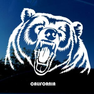 California bear sticker